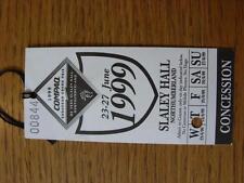23/06/1999 Ticket: Golf - European Grand Prix [At Slaley Hall, Northumberland] (