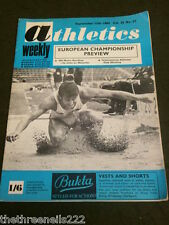 ATHLETICS WEEKLY - LYNN DAVIES - SEPT 13 1969