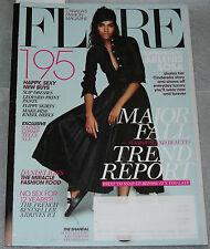 Flare Magazine August 2013 Arlenis Sosa Mary-Kate & Ashley Olsen Sophie Fontanel