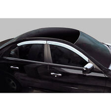 Chrome Window Visor Vent 4P For 05 09 Kia Spectra 5d : Cerato