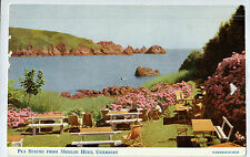 C5180cgt UK Guernsey Pea Stack Moulin Hutt postcard