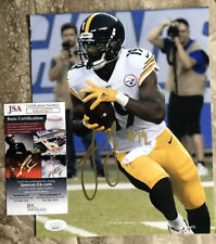 Juju Smith Schuster signed 8x10 Photo Pittsburgh Steelers Auto With JSA COA