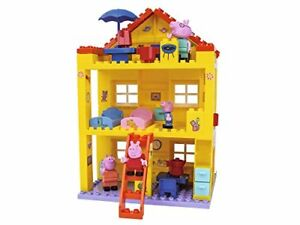 Big Peppa Pig Peppas House Building Sets Large Construction playset Completely