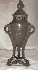 Antique Painted Metal French Perfume/Incense Burner Tripod 9 7/8�tall R 598