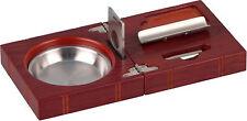 Zigarrenset Rosewood - Ascher / Cutter / Rundcutter - 30 x 240 x 120 mm