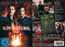 SUPERNATURAL - Staffel 5 --- alle 22 Episoden --- 6 DVDs --- Neu & OVP ---