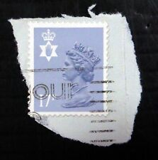 More details for gb northern ireland 17p rare type 2 fine/used on piece cat £150 sgn143a ns370