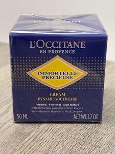 L'OCCITANE Immortelle Precious Cream Dynamic Youth-Care 50ml/1.7 oz NEW in Box