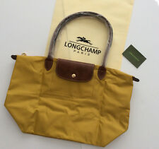 Authentic  Longchamp - Le Pliage  tote bag ( Curry L )