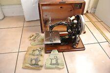 Beautiful FRISTER & ROSSMANN Chain stitch Sewing Machine(*SEE SAMPLE SEWN*)