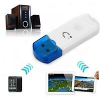 Car USB Bluetooth Wireless Stereo Audio Music Speaker Receiver Adapter Dongle