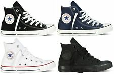 Mens Womens Converse Chuck Taylor All Star High Top Trainers Shoes Canvas Pumps