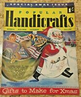 135 page Special Christmas issue Popular Handicrafts November 1952