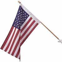 2.5 x 4 ft United States USA 50 USA Flag BANNER Pole Sleeve Hem (Made in USA)