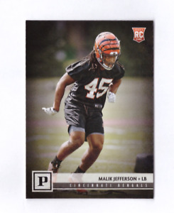 2018 Panini MALIK JEFFERSON Canvas Rookie Mint #339 Bengals RC