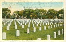 Hampton, VA The New Cemetery, National Soldier's Home 1918