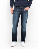 Mens Lee Daren regular slim stretch fit jeans 'Strong hand' FACTORY SECONDS L171