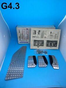 New Genuine OEM Fiat Bravo II 2007-2014 LHD Aluminium pedal Set kit 50901601