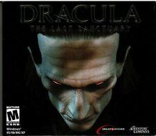 Drácula el último santuario PC XP Galbreth Hermoso emociones Nueva Suspenso