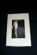 JASON DONOVAN PLAYING CARDS dark jacket 1989 POP ICON