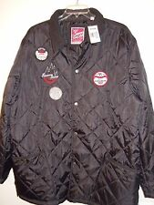 Men's Size 2XL Black Quilted Lightweight Jacket w/Snaps New With Tags by ENYCE