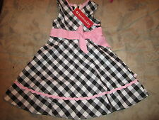 American Girl Bitty Baby Gingham Dress Party  Size 6X  NWTS