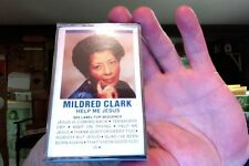 Mildred Clark- Help Me Jesus- new/sealed cassette tape- rare?