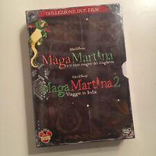 MAGA MARTINA RARO BOX 2 DVD SIGILLATO DISNEY - IL LIBRO MAGICO+VIAGGIO IN INDIA