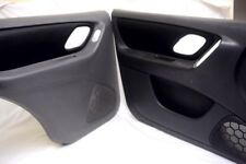 Ford Escape Front and Rear Door Panel Synthetic Leather Black For 01-07