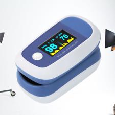 Ossimetro Pulsossimetro Saturimetro da dito Professionale CERTICATO Misuratore