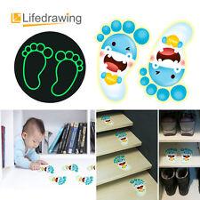 Hippopotamu Foot Stickers Luminescent Kids home Nursery Déco Slip Preventio