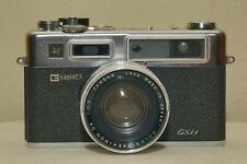 Yashica Electro 35 GSN 35mm Rangefinder Film Camera w/ flash, filter