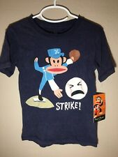 Paul Frank Boys Size 2T Long Sleeve Grey /'Does Good Enough Count Holiday Tee