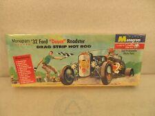 "Vintage Monogram 32 Ford ""Deuce"" Roadster Model PC55 . 98  New in Sealed Box"