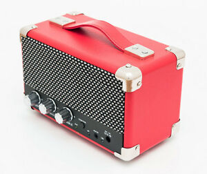 GPO Mini Westwood Portable 2x 5W Retro Style Bluetooth Speaker System