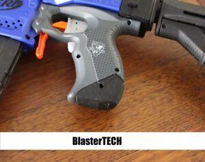 Stryfe Grip Extension 3d Printed for Nerf Blaster (Black)