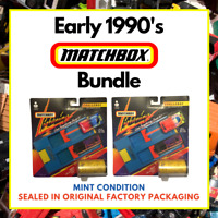 Matchbox 1991 Joblot Bundle Boxed Cars Lightning Challenge Dual Launcher Sets x2
