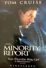 Minority Report Widescreen 2 DVD set Tom Cruise Steven Spielberg, director