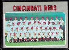 1970 TOPPS BASEBALL CINCINNATI REDS TEAM CARD PETE ROSE JOHNNY BENCH #544 NM-MT