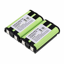 General 2 PCS HHR-P104 3.6V 900mAh Home Phone Battery For Panasonic HHRP104 Kit