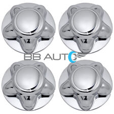 SET OF 4 1997-2004 FORD F150 EXPEDITION CHROME WHEEL HUB CENTER CAPS SET NEW