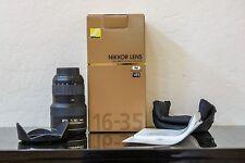 Nikon AF-S Nikkor 16-35mm f/4G ED VR Lens - Incl. original box and accessories