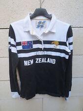 Polo SERGE BLANCO 15 1958 NEW ZEALAND shirt Nouvelle Zélande S / M coton