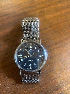 iwc portofino Automatic Watch,3513 Military Style With Mesh Bracelet
