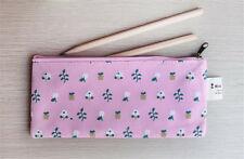 Little flower oxford cloth pencil bags Students stationery pen bag pencil cases