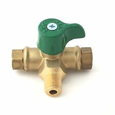 GAS LPG REGULATOR - MANUAL CHANGEOVER VALVE/TAP 2 STAGE