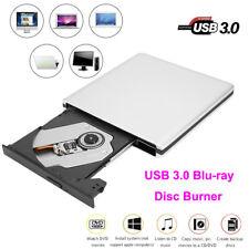 3D Blu-Ray Optical Drive External USB 3.0 Laptop PC CD DVD BD Recorder Burner BS