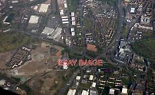 PHOTO  TOWNHEAD INTERCHANGE FROM THE AIR JUNCTION 15 ON THE M8 MOTORWAY IS A COM