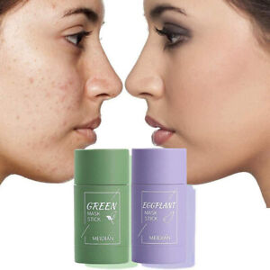 Green Tea Purifying Clay Stick Mask Anti-Acne Deep cleansing -Oil control Beauty