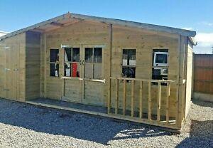 20x10ft combination hi-pex veranda Summerhouse shed